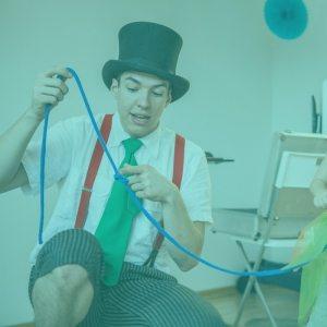 Ein Kindergeburtstag mit Zauberlehrling Zwicki