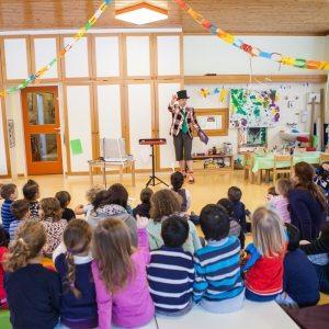 Kindergarten Zaubershow