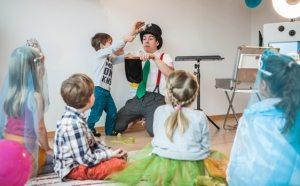 Zaubershow Kindergeburtstag